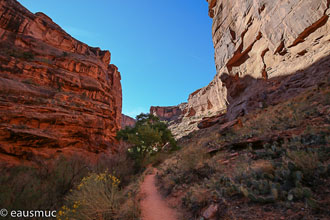 Trail im Canyon